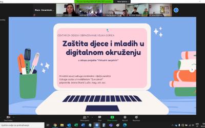 """Održana druga tematska radionica projekta """"Virtualni savjetnik"""""""